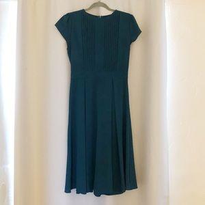 Jade colored Eshakti dress mid calf length size 6